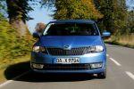 skoda rapid 1.2 tsi green tec ambition test - turbo benzin start stopp kompakt limousine amudsen familie preis touchscreen front ansicht