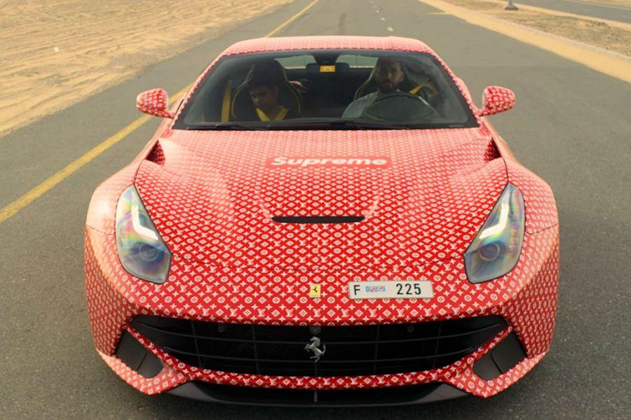 Ferrari Kid Car Seat