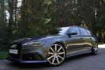 MTM Audi RS6 Avant C7 2013 Performance Kombi 4.0 TFSI V8 Biturbo Bimoto Felgen Motoren Technik Meyer Front Seite