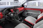 VW Volkswagen up! Kleinwagen City Take up Move up High up Happy Face 1.0 Dreizylinder Notbremsfunktion Maps More PID Box Interieur Innenraum Cockpit