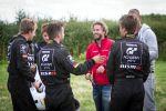 Nissan GT Academy 2014 Deutschland Germany Finale Silverstone Race Camp Sony Playstation Gran Turismo Nick Heidfeld