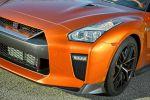 Nissan GT-R 2017 Facelift Modellpflege 3.8 V6 Twin Turbo Biturbo Allrad Aerodynamik Fahrwerk Handling Active Sound Enhancement ASE Infotainment Katsura Orange Front