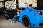 Nissan GT-R Warrior von SJ Exclusive mit Saskia Madleen von Wolfsburg