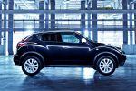 Nissan Juke Ministry of Sound MoS Musik Kompakt SUV Crossover Allrad 1.6 DIG-T Turbo 1.5 dCi Seite Ansicht