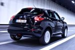 Nissan Juke Ministry of Sound MoS Musik Kompakt SUV Crossover Allrad 1.6 DIG-T Turbo 1.5 dCi Heck Seite Ansicht