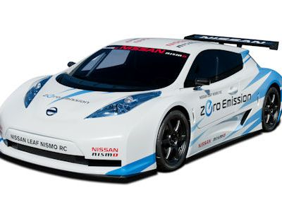 Nissan Leaf NISMO RC Race Car EV Electric Vehicle Elektroauto Lithium Ionen Batterie Rennwagen