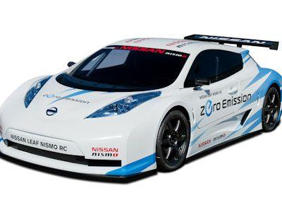 Nissan Leaf NISMO RC Race Car EV Electric Vehicle Elektroauto Lithium Ionen Batterie Rennwagen