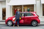Nissan Micra Elle Fashion Frau Dame Lady Acenta 1.2 Dreizylinder Front Seite Model