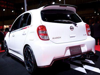 Nissan Micra March Nismo Concept Performance Kleinwagen Werkstuner