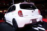Nissan Micra March Nismo Concept Performance Kleinwagen Werkstuner Heck Ansicht