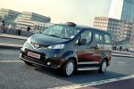 Nissan NV200 London Taxi Black Cab Front Seite Ansicht