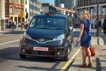 Nissan NV200 London Taxi Black Cab Front Ansicht