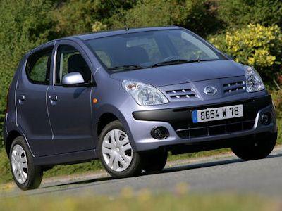 Nissan Pixo Visia Acenta Pure Drive. Der Pixo kommt ab dem zweiten Quartal
