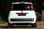 Novitec Fiat Panda Zweizylinder TwinAir Powerjet Multijet Turbo Diesel Powerrail N10 Heck Ansicht