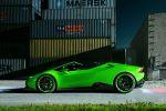 Novitec Torado Lamborghini Huracan LP 640-4 Spyder Spider Cabrio 5.2 V10 Kompressor Tuning Leistungssteigerung Carbon Aerodynamik Tieferlegung Gewindefahrwerk Rad Felge NL1 Auspuffanlage Sportabgasanlage Inconel Seite