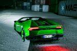 Novitec Torado Lamborghini Huracan LP 640-4 Spyder Spider Cabrio 5.2 V10 Kompressor Tuning Leistungssteigerung Carbon Aerodynamik Tieferlegung Gewindefahrwerk Rad Felge NL1 Auspuffanlage Sportabgasanlage Inconel Heck