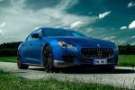Novitec Tridente Maserati Quattroporte Sportlimousine Luxus Performance 3.8 V8 Twinturbo Biturbo V6 N-Tronic Q4 NM1 Front Seite