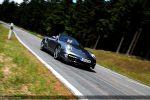 Porsche 997 Turbo Cabrio Test - Front Ansicht vorne seitlich