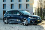 OCT Tuning VW Volkswagen Golf VII 7 R Leistungssteigerung 2.0 Turbo 4MOTION Allrad Front Seite