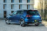 OCT Tuning VW Volkswagen Golf VII 7 R Leistungssteigerung 2.0 Turbo 4MOTION Allrad Heck Seite