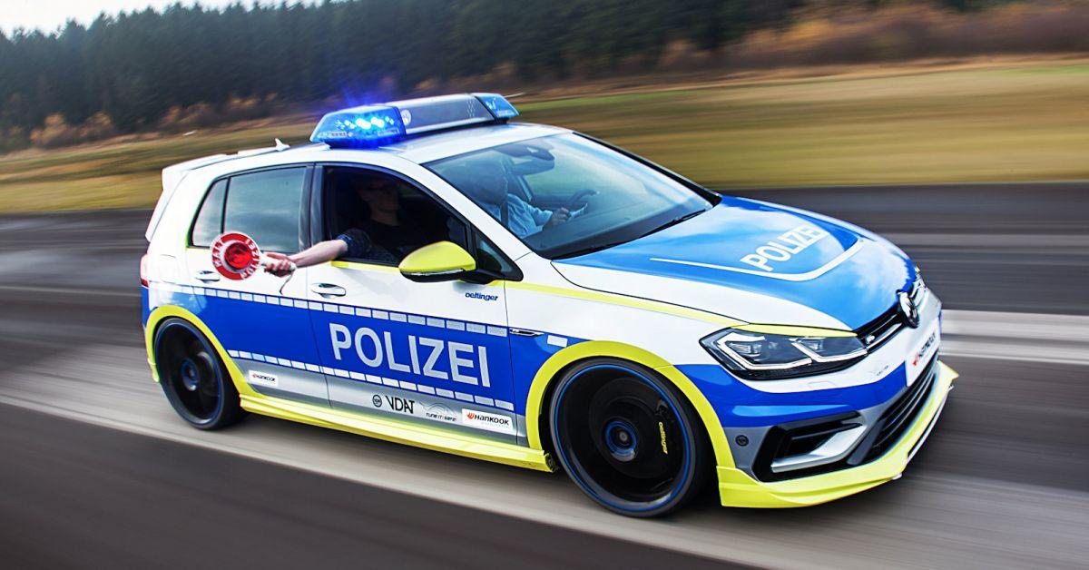 Oettinger Vw Golf 400r Die Polizei Dreht Durch Speed Heads