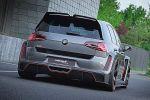 Oettinger VW Volkswagen Golf R500 2.5 TFSI Fünfzylinder Allrad ATS Tuning Leistungssteigerung Heck