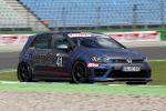 Oettinger VW Volkswagen Golf VII 7 R Tuning 2.0 Turbo 4MOTION Allrad Racing Front Seite
