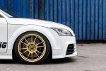 OK-Chiptuning Audi TT RS plus S tronic 2.5 TFSI Fünfzylinder Wagner Ladeluftkühler Evo 2 DK Turbotecnic OZ Ultraleggera HTL Rad Felge