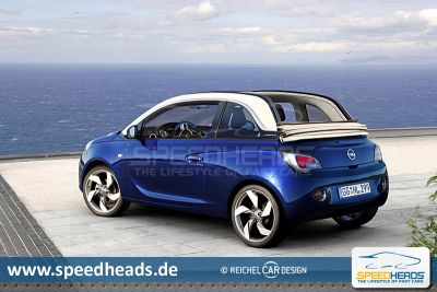 opel adam cabrio fast oben ohne pictures. Black Bedroom Furniture Sets. Home Design Ideas