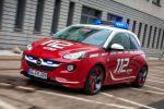 Opel Adam Feuerwehr Voraushelferfahrzeug First Responder eAZD Front Seite