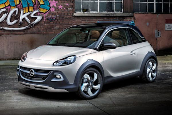 opel adam rocks concept mini crossover fast oben ohne speed heads. Black Bedroom Furniture Sets. Home Design Ideas