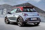 Opel Adam Rocks S Sportler Rennsemmel Mini Crossover 1.4 Turbo Infotainment IntelliLink Smartphone App Heck Seite