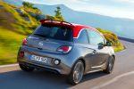 Opel Adam S Sportler Rennsemmel 1.4 Turbo Kleinstwagen Lifestyle Flitzer IntelliLink Infotainment App Siri Eyes Free Heck Seite