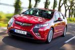 Opel Ampera Elektro Auto EV Electric Vehicle Front Seite Ansicht