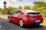 Opel Ampera Elektro Auto EV Electric Vehicle Heck Seite Ansicht