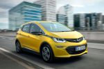 Opel Ampera-e 2017 Elektroauto E-Auto technische Daten Reichweite Stromer Laden Drive Low Regen on Demand Rekuperation IntelliLink Infotainment Smartphone App WLAN Internet Front Seite