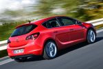 Opel Astra 1.6 SIDI Ecotec Spark Ignition Direct Injection Heck Seite Ansicht