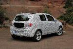 Opel Corsa E 2014 Erlkönig 1.0 Ecotec Dreizylinder Turbo Benziner Kleinwagen IntelliLink Smartphone Heck Seite