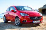Opel Corsa E 2015 1.0 Ecotec Dreizylinder Turbo Benziner CDTI Diesel Kleinwagen IntelliLink Smartphone App Front Seite