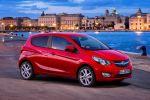 Opel Karl 2015 Kleinstwagen Kleinwagen 1.0 ECOTEC Dreizylinder Fünftürer IntelliLink Infotainment Smartphone Apps Konnektivität Front Seite