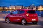 Opel Karl 2015 Kleinstwagen Kleinwagen 1.0 ECOTEC Dreizylinder Fünftürer IntelliLink Infotainment Smartphone Apps Konnektivität Heck Seite