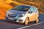 Opel Meriva 2014 1.6 CDTI ecoFlex Turbo Flüsterdiesel Van FlexSpace FlexRail FlexDoors FlexFix IntelliLink Infotainment Front Seite