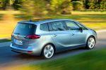 Opel Zafira Tourer 1.6 CDTI ecoFlex Turbo Diesel Kompakt Van Minivan Lounge Flex7 FlexRide FDI FCA AFL APA SBSA Heck Seite