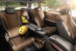 Opel Zafira Tourer 1.6 SIDI Turbo Benziner Kompakt Van Minivan Lounge Flex7 FlexRide FDI FCA AFL APA SBSA Interieur Innenraum Fond Rücksitze