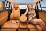 Opel Zafira Tourer Concept Monocab Lounge FlexRide 1.4 Turbo Flex7 Innenraum Interieur Fond