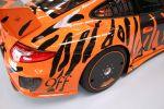 9ff GTurbo 1200 Porsche 911 997 GT3 RS 4.0 Biturbo Heck Ansicht Aluminium Hinterradabdeckung