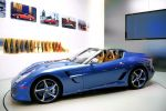 Ferrari Superamerica 45 Klappdach Cabrio 599 6.0 V12 Peter Kalikow Seite Ansicht Dach auf