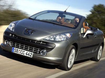 Peugeot 207 CC JBL Coupe Cabriolet Sport 120 VTi HDi FAP 110 WIP Sound