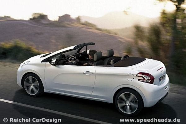 peugeot 208 cabrio es lebe der stoff speed heads. Black Bedroom Furniture Sets. Home Design Ideas