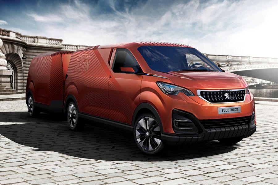 Mini Kühlschrank Expert : Peugeot foodtruck neuer expert im luxus imbisswagen versteckt